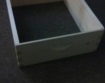 Assembled  2 shallow honey super body for a bee hive
