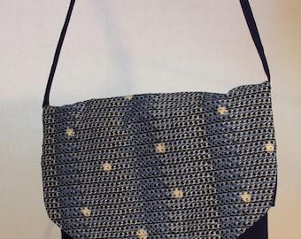 Medium Bag in 2-tone Blue Item #B20