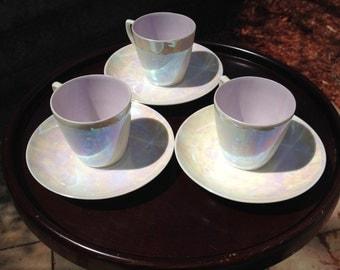 Limoges Art Deco Tea Set (Set of 3)