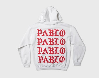 The Life of Pablo Tour PARIS POP UP Hoodie Kanye West Yeezy Tlop Tour Merch Yeezus Ultra Light Perfect!!! Hooded Sweatshirt I Feel Like