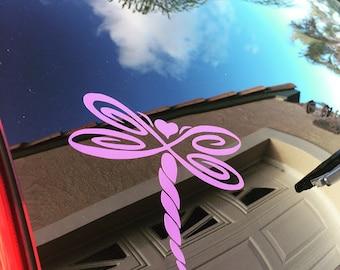 Dragonfly Decal - Dragonfly - Dragonfly car decal -Dragonfly sticker - Decal - Sticker -