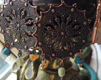 Reiki infused~ Mandala~ crystal