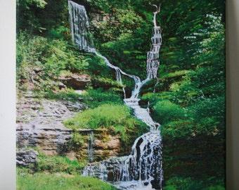 Two Waterfalls