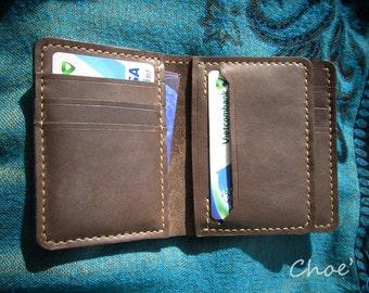 Fold Wallet (flap & vertical) - ChoeAnt