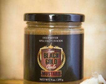 Texas Black Gold Garlic Mustard