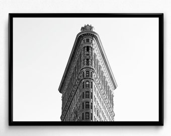 New York City Print, NYC Photo, New York Photo, Flat Iron Building, NYC Print, New York Print, Digital Download, Printable Wall Art