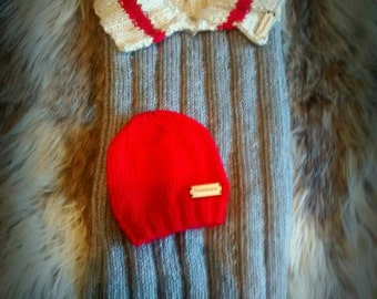 Nest of Angel baby and toques, Cocoon baby with Beanie 0-3 months