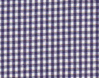 """Fabric Finders Navy Gingham 1/16""""-1 Yard"""