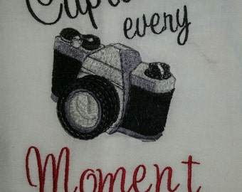 Camera Towel, Capture the Moment
