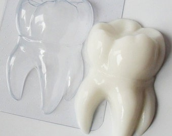 Tooth mold, dentist mold, plastic mold, mold for soaps, resin mold, big teeth mold, chocolate mold, mold for chocolate, soap making supplies