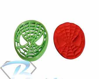 Spiderman Cookie Cutters Fondant Cutter Cake Decorating Birthday Cake