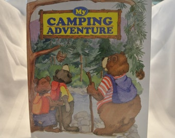 Personalized Children's Book - My Camping Aventure