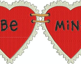 Machine Embroidery Designs - Cuddle Valentine #3