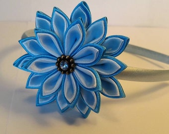Kanzashi hair headbands