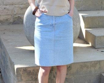 Valentino Jeans 90's denim skirt