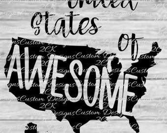 united states of awesome svg