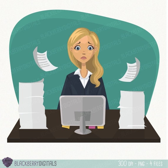 free clipart office worker - photo #24