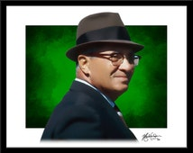 Vince Lombardi Print - Fine Art - Modern Graphic Decor - Green Bay Packers Football