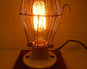 Urban Industrial desk lamp, dresser, table light