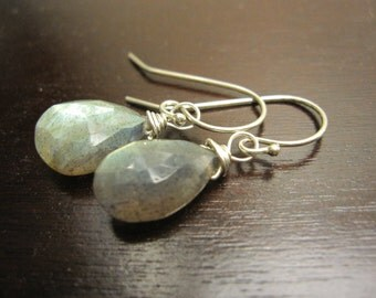 Labradorite and sterling silver