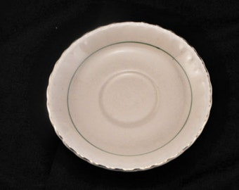 Green Line Salad Plates from 1950s
