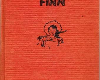 Huckleberry Finn by Samuel L. Clemens published by The Goldsmith Publishing Company, Chicago 1940s