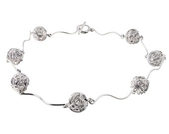 Nest Sterling Silver Necklace