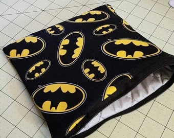 Batman Insulated lined Zipper Pouch