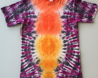Tie Dye Handcrafted T-Shirt Size: Medium (Free Shipping)