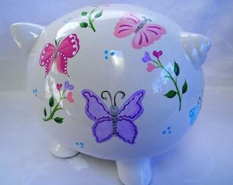 Butterfly Bank Etsy