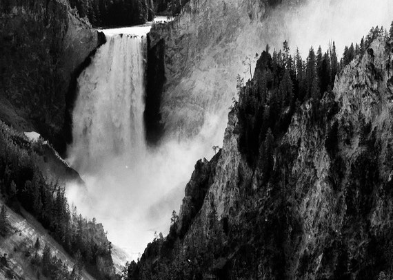 No. 037 | Yellowstone falls art wall photo print 8x10 11x14 16x20 gift present holiday christmas best top popular selling seller sale