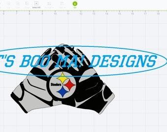 Steeler Gloves SVG design