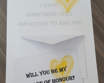 Personalised A4 print with a6 envelope and card insert