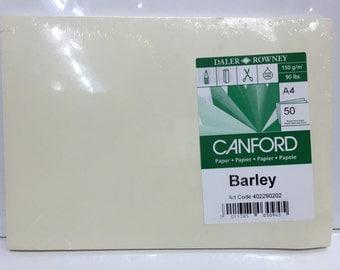 Paper - 50 sheets Barley