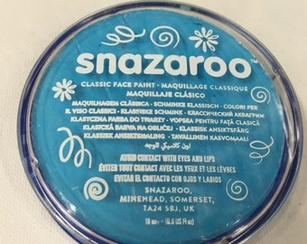 Face Paint Turquoise