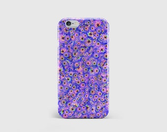 Pretty Flower Print iPhone Case | Pretty Wild Daisy Flowers | Indie Girly Art | iPhone 7 case, iPhone 6 case, iPhone 5 case \ hc-pp126