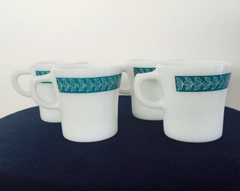 Anchor hocking coffee cup set