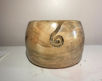 Maple Yarn Bowl