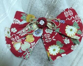 Japanese pattern flower Ribbon