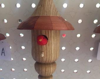 Bird House Ornaments