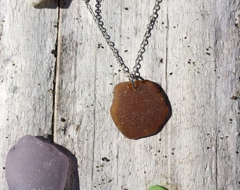 Authentic Found Sea Glass Necklace