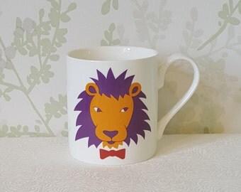 Fancy Lion Mug