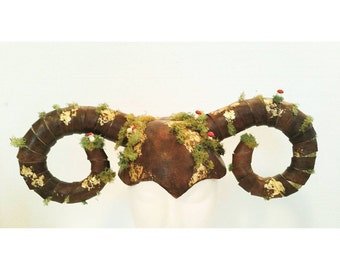 Forest creature horns head accessories