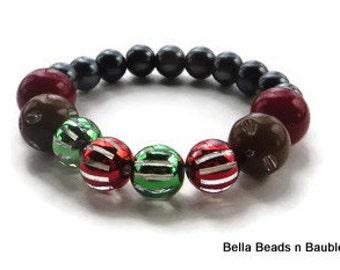 Mutil Color l Hand Beaded Bracelet