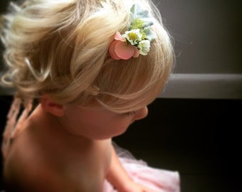 Petite Floral Special Occasion Headband