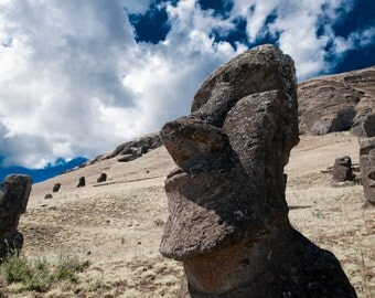 Heads of Easter Island