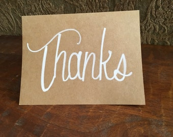 10 pack of thank you cards
