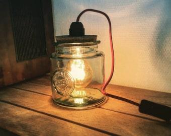 Lamp jar vintage