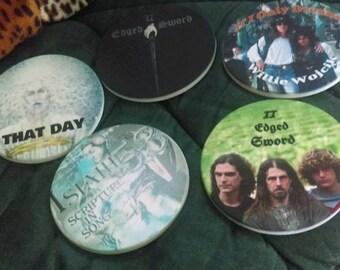 Personalized Sandstone Coasters (4)
