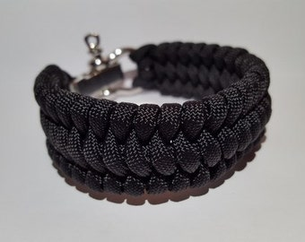 ByQuinty paracord bracelets wide fish tail